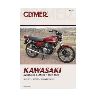 Clymer Manual Kawasaki KZ500 / 550 / ZX550 1979-1985