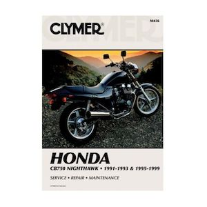Clymer Manual Honda CB750 Nighthawk 1991-1999