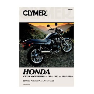 Clymer Manual Honda CB750 Nighthawk 1991-1993 1995-1999 Clymer motorcycle repair manuals are written specifically for the do-it-yourself enthusiast. From basic maintenance to troubleshooting to complete overhaul, Clymer manuals provide the information you need. The most important tool in your tool box may be your Clymer manual, get one today. Note: It is always important to consult multiple sources with any questions when attempting to repair your own bike. Breaking things saves neither time or money! Models Covered: CB750 Nighthawk (1991-1993, 1995-1999)