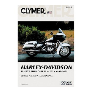 Clymer Manual Harley-Davidson FLH / FLT Twin Cam 88 / 103 1999-2005 Clymer motorcycle repair manuals are written specifically for the do-it-yourself enthusiast. From basic maintenance to troubleshooting to complete overhaul, Clymer manuals provide the information you need. The most important tool in your tool box may be your Clymer manual, get one today. Includes color wiring diagrams. Note: It is always important to consult multiple sources with any questions when attempting to repair your own bike. Breaking things saves neither time or money! Models Covered: FLHT/FLHTI Electra Glide Standard (1999-2005) FLHTC/FLHTCI Electra Glide Classic (1999-2005) FLHTCUI Classic Electra Glide (1999-2005) FLHTCSE2 Screamin Eagle Electra Glide 2 (2005) F