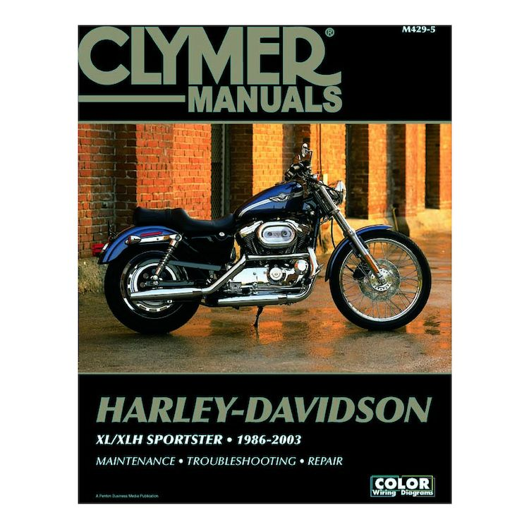 Clymer Manual Harley-Davidson XL / XLH Sportster 1986-2003 on