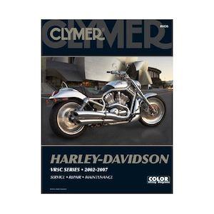 Clymer Manual Harley-Davidson VRSC Series 2002-2007