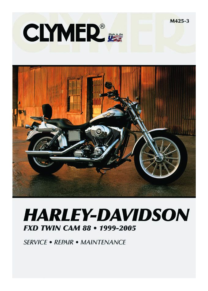 Clymer Manual Harley Davidson FXD Twin Cam 88 1999 2005 10 Off
