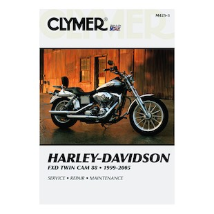 Clymer Manual Harley-Davidson FXD Twin Cam 88 1999-2005 Clymer motorcycle repair manuals are written specifically for the do-it-yourself enthusiast. From basic maintenance to troubleshooting to complete overhaul, Clymer manuals provide the information you need. The most important tool in your tool box may be your Clymer manual, get one today. Note: It is always important to consult multiple sources with any questions when attempting to repair your own bike. Breaking things saves neither time or money! Models Covered: FXD/FXDI Dyna Super Glide (1995-2005) FXDS-CONV Dyna Super Glide Convertible (1999-2000) FXDL/FXDLI Dyna Low Rider (1999-2005) FXDWG/FXDWGI Dyna Wide Glide (1999-2005) FXDX/FXDXI Dyna Super Glide Sport (1999-2005) FXDC/FXDCI Dy