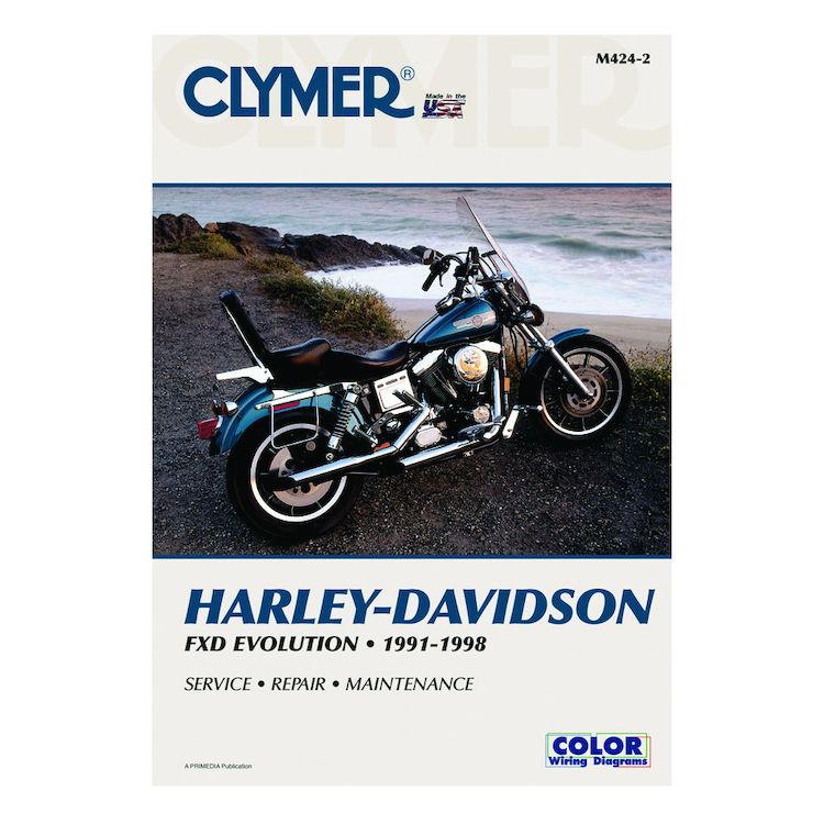 Clymer Manual Harley-Davidson FXD Evolution 1991-1998