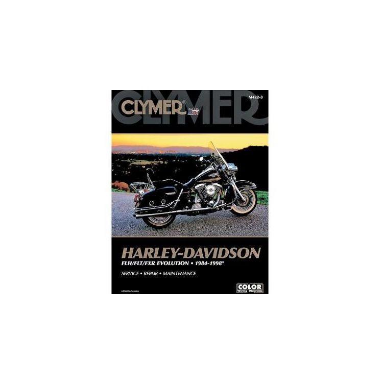 clymer manual harley davidson flh flt fxr evolution 1984 1998 rh revzilla com harley davidson evolution manual harley davidson evolution service manual