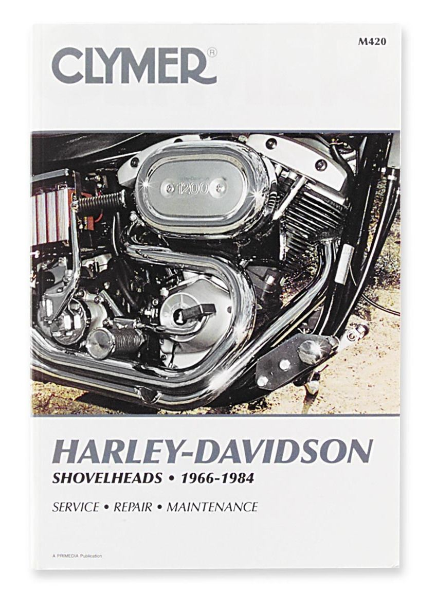 Clymer Manual Harley Davidson Shovelheads 1966 1984 10 370 Shovelhead Wiring Diagram On Off Revzilla