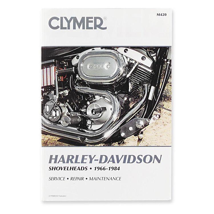 Clymer Manual Harley-Davidson Shovelheads 1966-1984