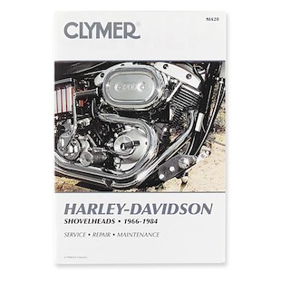 Clymer Manual Harley-Davidson Shovelheads 1966-1984 Clymer motorcycle repair manuals are written specifically for the do-it-yourself enthusiast. From basic maintenance to troubleshooting to complete overhaul, Clymer manuals provide the information you need. The most important tool in your tool box may be your Clymer manual, get one today. Covers all genny and cone motors! Includes color wiring diagrams. Note: It is always important to consult multiple sources with any questions when attempting to repair your own bike. Breaking things saves neither time or money!