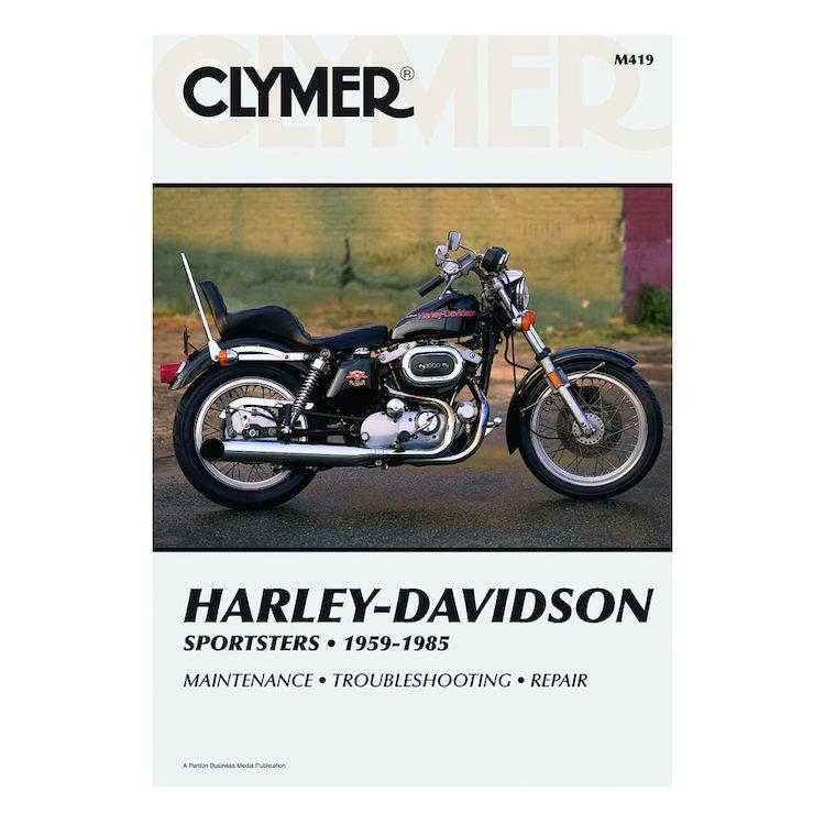 Clymer Manual Harley-Davidson Ironhead Sportster 1959-1985
