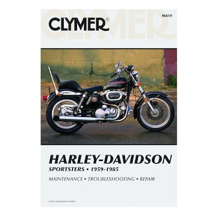 Clymer Manual Harley-Davidson Sportster 1959-1985 Clymer motorcycle repair manuals are written specifically for the do-it-yourself enthusiast. From basic maintenance to troubleshooting to complete overhaul, Clymer manuals provide the information you need. The most important tool in your tool box may be your Clymer manual, get one today. Covers all Ironheads! Note: It is always important to consult multiple sources with any questions when attempting to repair your own bike. Breaking things saves neither time or money!