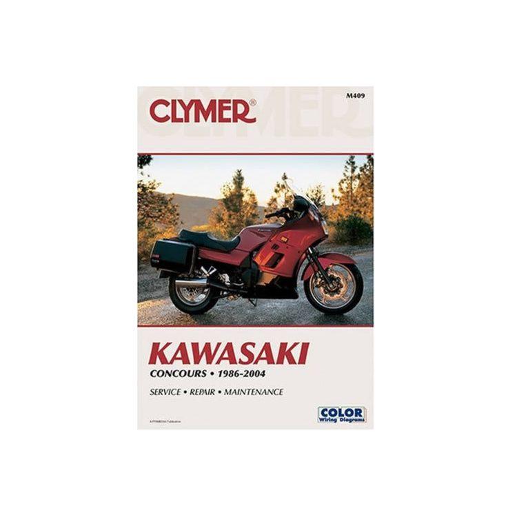 Clymer Manual Kawasaki ZG1000 Concours 1986-2006