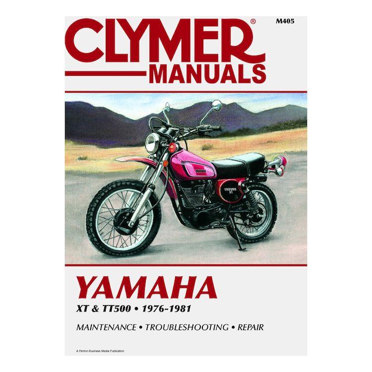 Clymer Manual Yamaha XT500 / TT500 76-81