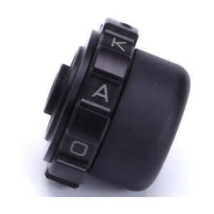 Kaoko Throttle Lock For 14mm Handlebars With Barkbusters