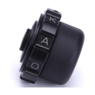 Kaoko Throttle Lock For Aftermarket 14mm ID Handlebars With Barkbusters