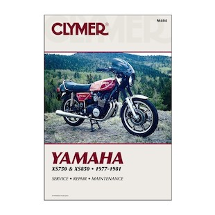 Clymer Manual Yamaha XS750 / XS850 1977-1981