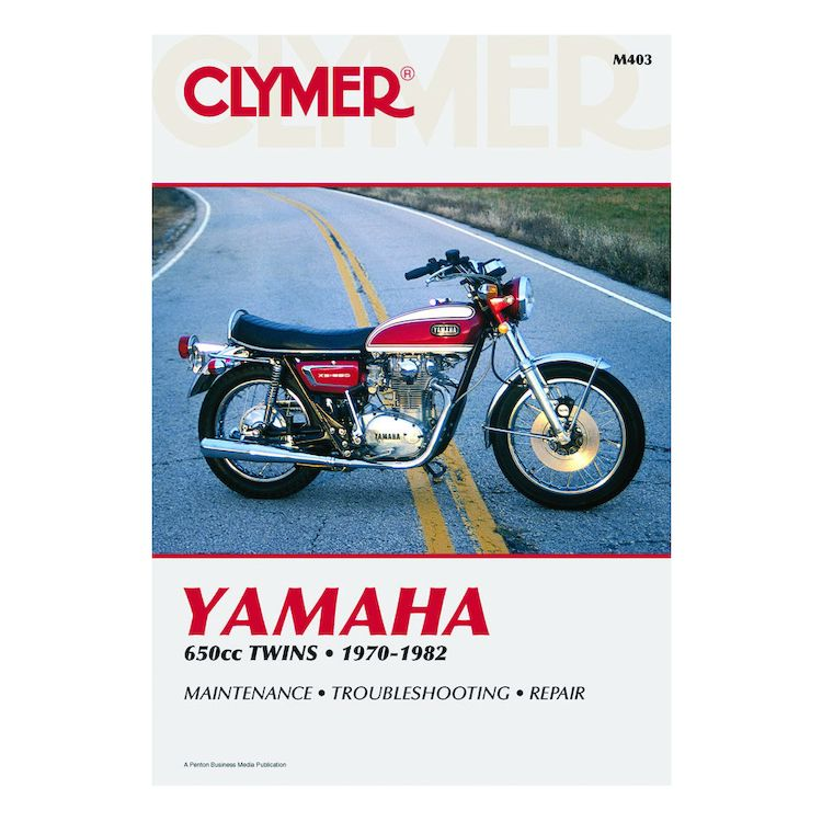 Clymer Manual Yamaha 650 Twins 1970-1982