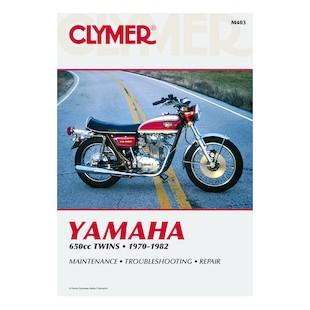 Clymer Manual Yamaha 650 Twins 1970-1982