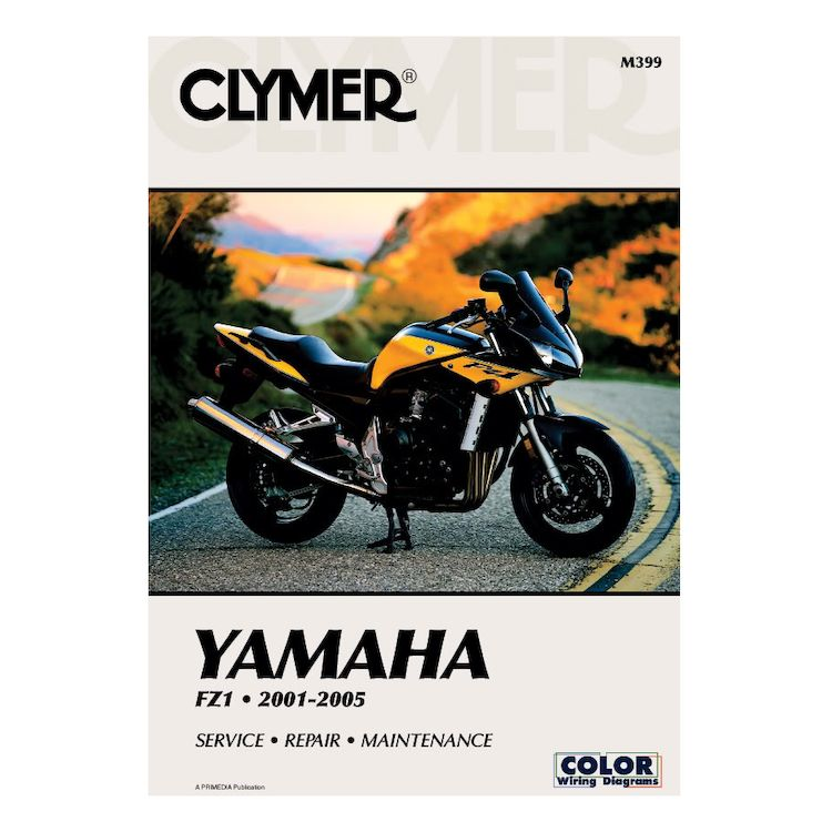 clymer manual yamaha fz1 2001 2005 10 off. Black Bedroom Furniture Sets. Home Design Ideas