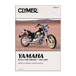 Clymer Manual Yamaha XV535 - 1100 1981-2003