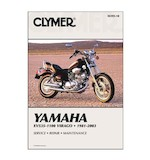 Clymer Manual Yamaha XV535 - 1100 1981-2003