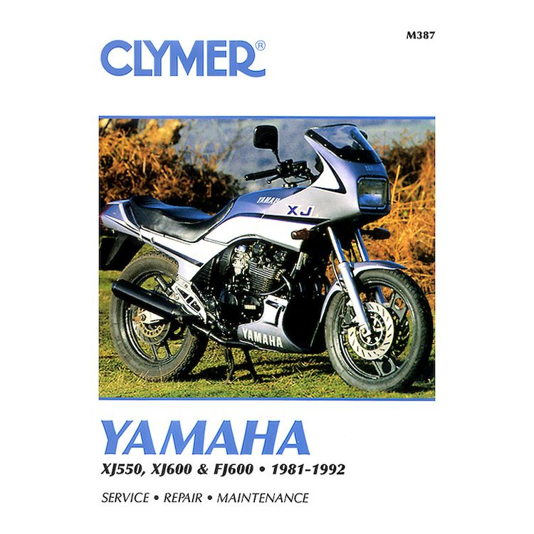 Clymer Manual Yamaha XJ550 / FJ600 1981-1992