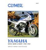 Clymer Manual Yamaha XJ550 / FJ600 1981-1992