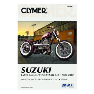 Clymer Manual Suzuki LS650 Savage 1986-2012