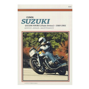 Clymer Manual Suzuki GS1100 Fours 1980-1981
