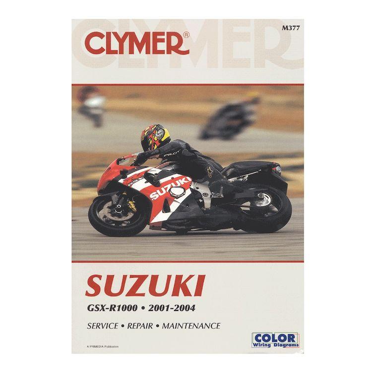 Clymer Manuel Suzuki GSX-R1000 2001-2004