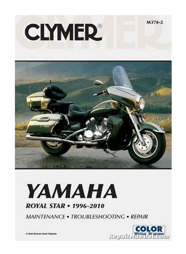 Clymer Manuals Yamaha V Star