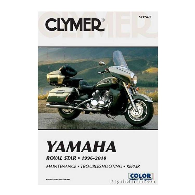 Clymer Manual Yamaha Royal Star 1996-2010