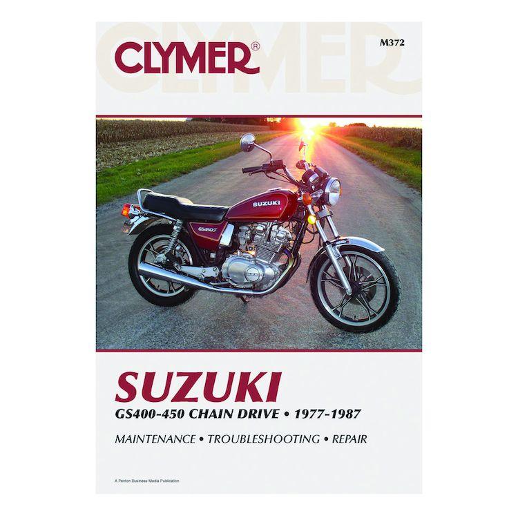 Clymer Manual Suzuki GS400 - 450 1977-1987
