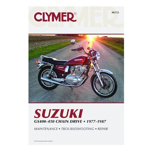 Clymer Manual Suzuki GS400 - 450 1977-1987