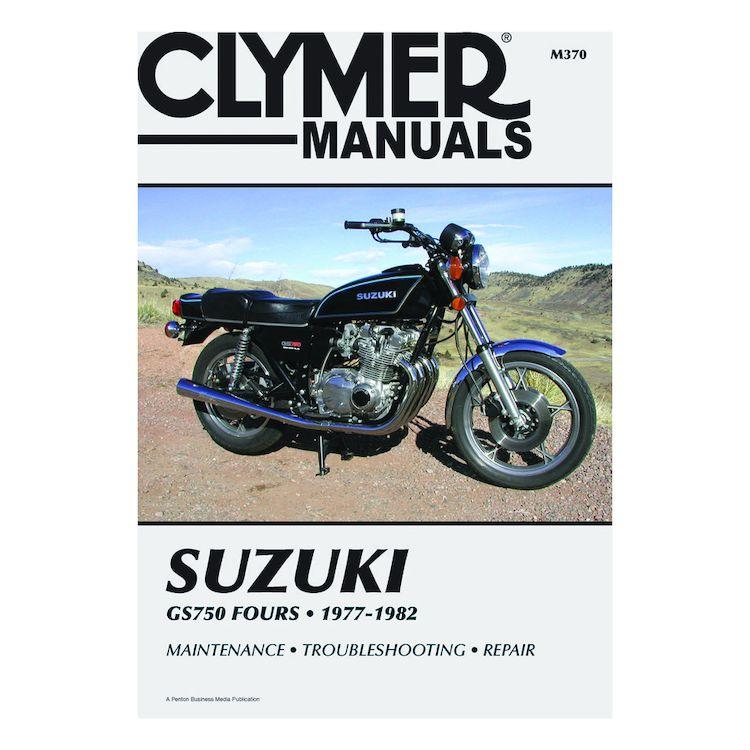 Clymer Manual Suzuki GS750 Fours 1977-1982