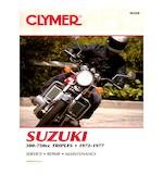 Clymer Manual Suzuki GT380 / GT550  / GT750  1972-1977