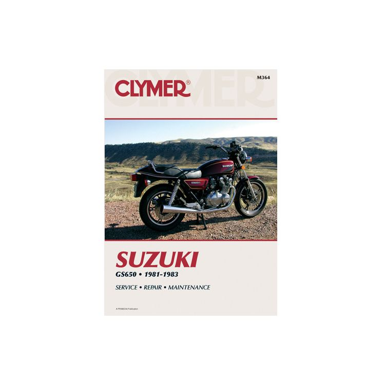 Clymer Manual Suzuki GS650 1981-1983