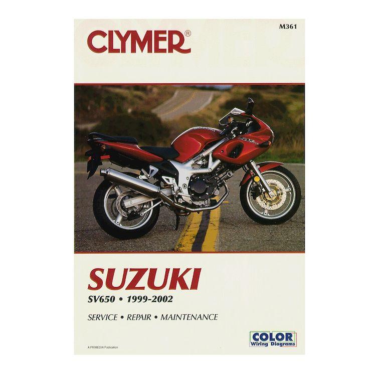 clymer manual suzuki sv650 1999 2002 10 3 70 off revzilla rh revzilla com 2003 suzuki sv650s service manual pdf suzuki sv650s 2002 service manual