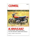Clymer Manual Kawasaki K / KZ 900 -201000 1973-1981