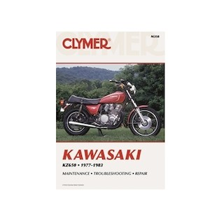 Clymer Manual Kawasaki KZ650 1978-1983