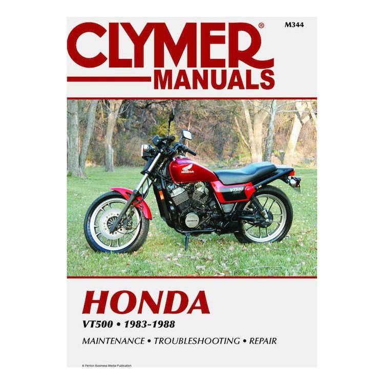 Clymer Manual Honda VT500 1983-1988