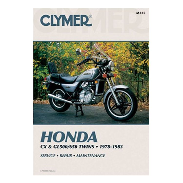 Clymer Manual Honda CX / GL 500 / 650 1978-1983