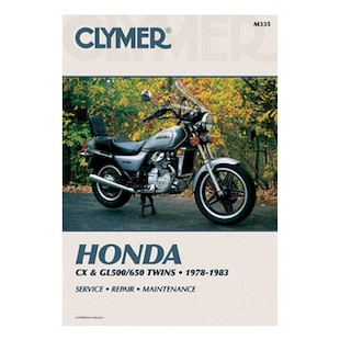 Clymer Manual Honda CX / GL 500 / 650 1978-1983