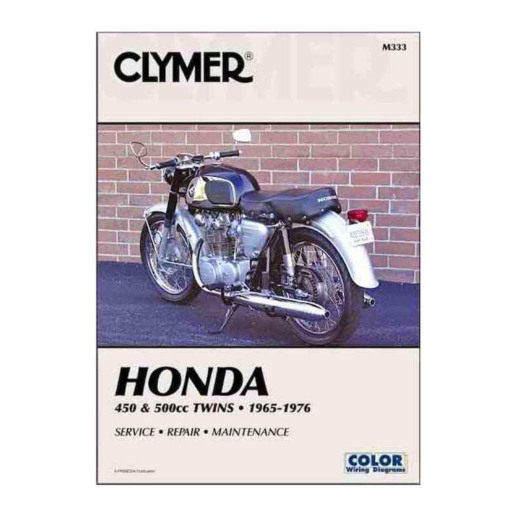 Clymer Manual Honda 450 / 550 Twins 1965-1977