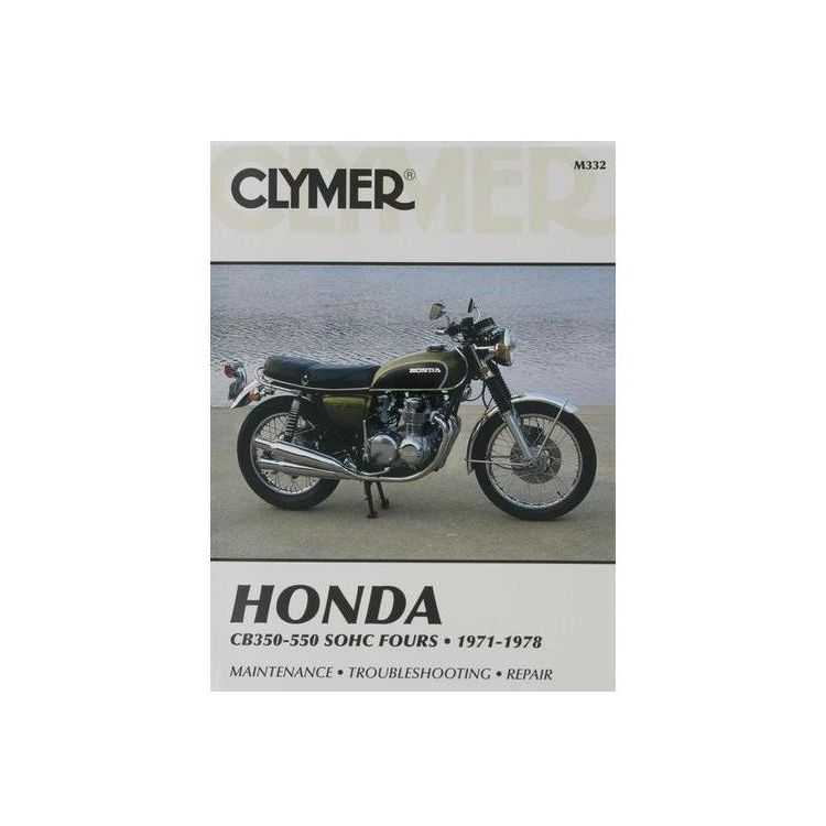 Clymer Manual Honda CB350 / 550 Fours 1971-1978
