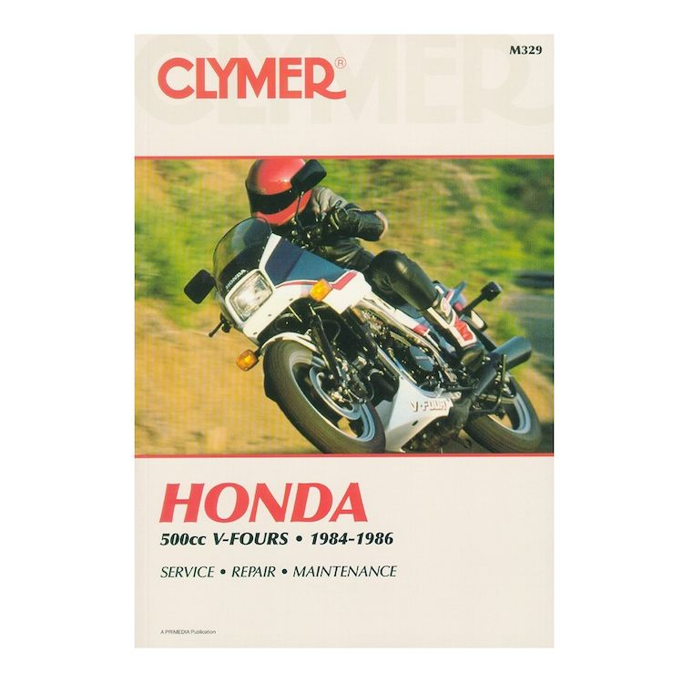 Clymer Manual Honda VF500 V-Fours 1984-1986