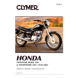 Clymer Manual Honda Twinstar / Rebel 250 / Nighthawk 250 1978-2003
