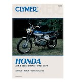 Clymer Manual Honda 250 / 350 Twins 64-74
