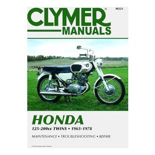 Clymer Manual Honda 125 - 200 Twins 65-78