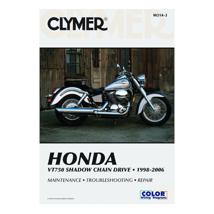 Clymer Manual Honda VT750 Shadow Chain Drive 1998-2006